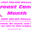 October Breast Cancer Awareness Month