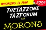 TAZ for Morons
